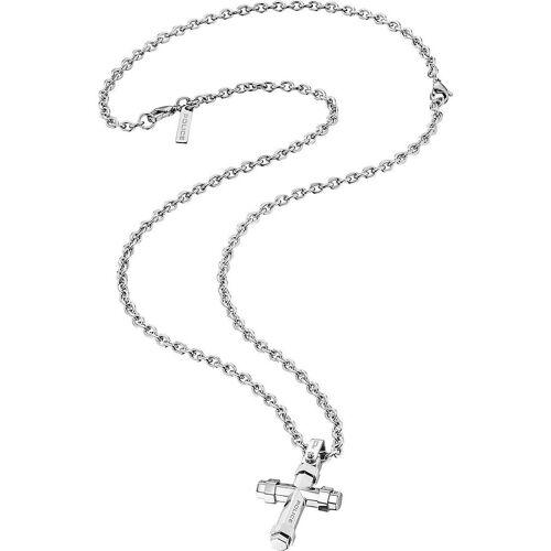 Police Halskette aus Metall