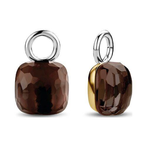 Ti Sento Damen-Ohrringe 925er Silber Kristall
