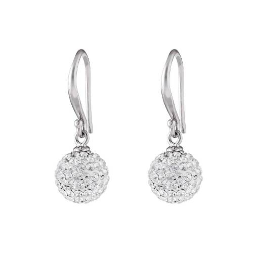FAVS Ohrhänger aus 925 Sterling Silber mit Kristallen