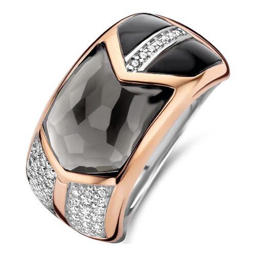 Ti Sento - Milano Damen-Damenring 925er Silber Kristall