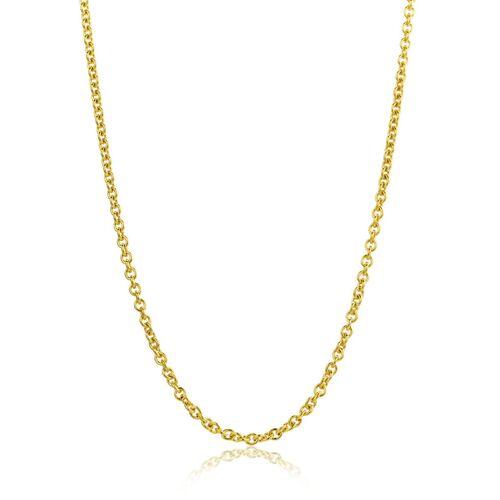 VALERIA Halskette aus 333 Gold   Breite 1,5 mm