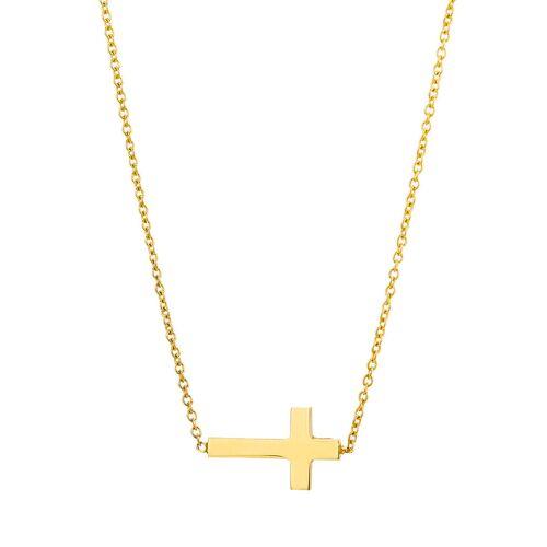 VALERIA Halskette aus 375 Gold