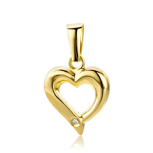 VALERIA Kettenanhänger aus 750 Gold mit Diamant