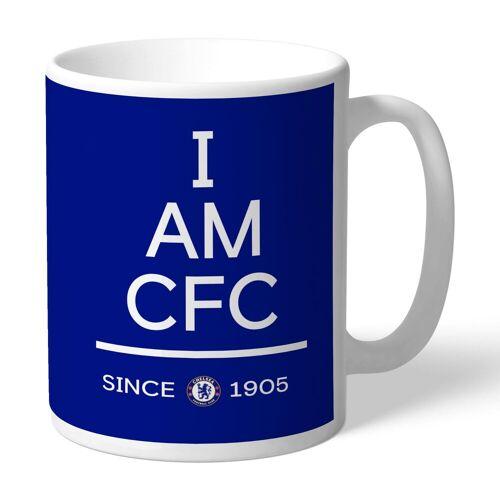 "Ian Philipson Chelsea personalisierte ""I am CFC""-Tasse"