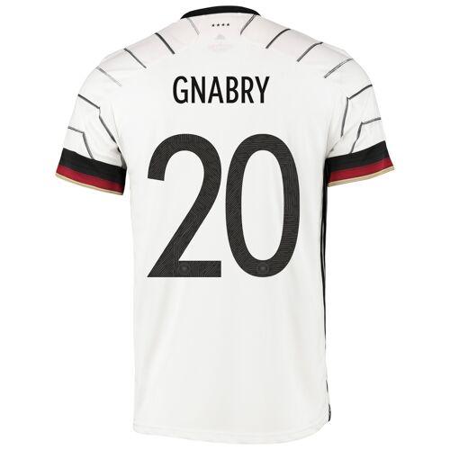 Adidas Deutschland Heimtrikot mit Aufdruck Gnabry 20