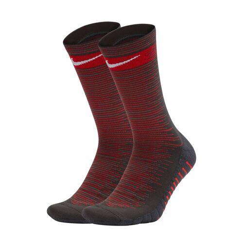 Nike Grip Squad Crew Football Socks - Grey