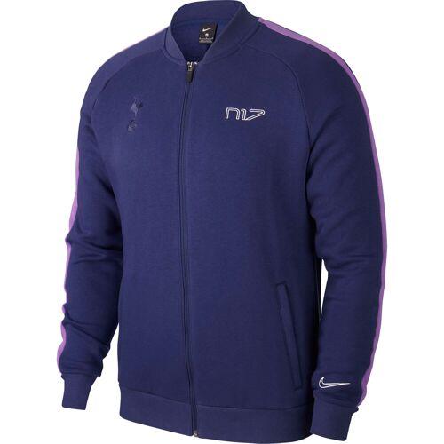 Nike Tottenham Hotspur Fleece-Trainingsjacke – blau