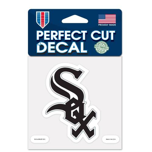 WinCraft Inc Chicago White Sox 4 x 4 Perfect Cut Decal-Aufkleber