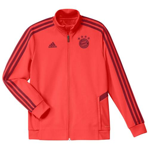 Adidas FC Bayern Trainings-Regenjacke – rot – Kinder