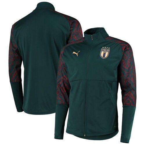 Puma Italien Stadion-Jacke - Gr�ün