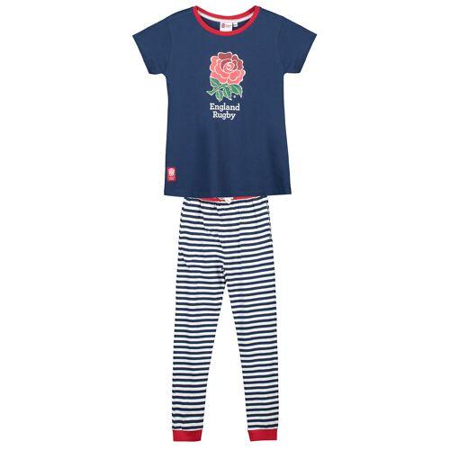 Club Branded England Stripe Pyjama Set - Girls
