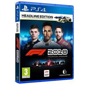 Koch Media Formula 1 2018 - Headline Edition - PS4