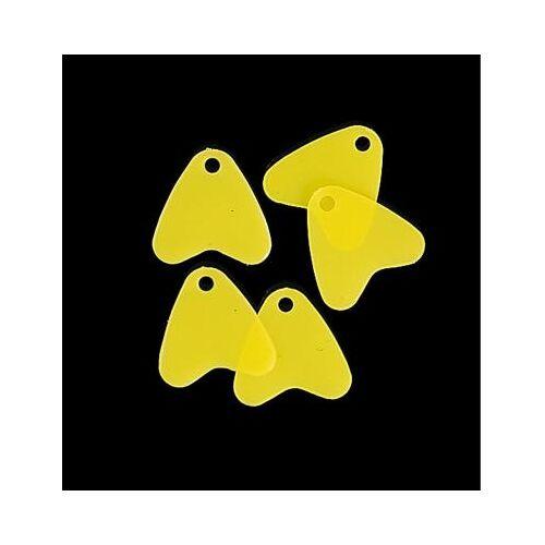 JENZI Plastik-Flossen gelb