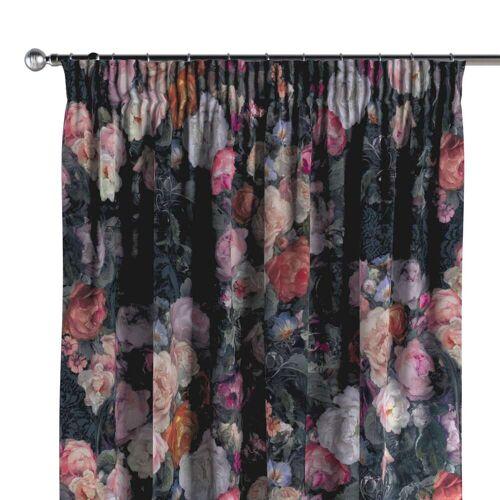Dekoria Vorhang mit Kräuselband, bunt, 130 × 260 cm, Gardenia (161-02)