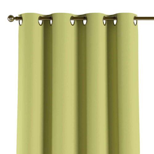 Dekoria Verdunklungsvorhang mit Ösen, grün, 1 Stck. 140 × 260 cm, Blackout (verdunkelnd) (269-17)