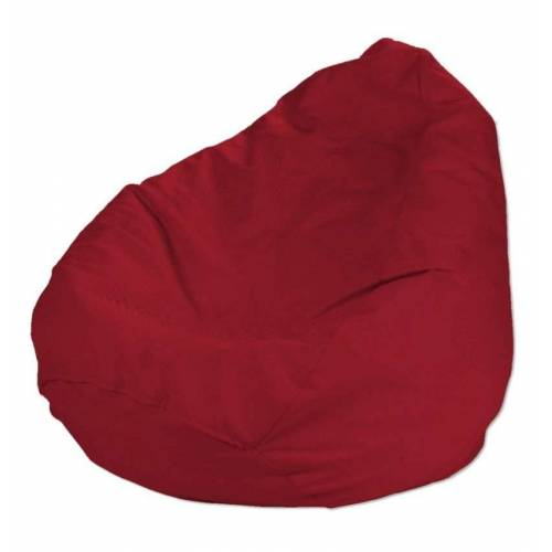 Dekoria Bezug für Sitzsack, rot, Bezug für Sitzsack Ø50 × 85 cm, Etna (705-60)