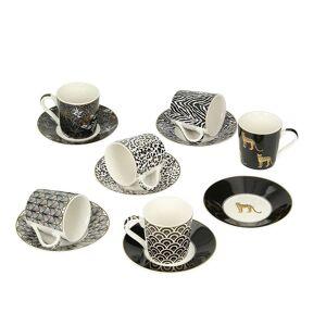 Dekoria Espresso Set Savana 6 Stck. 100ml, 100ml