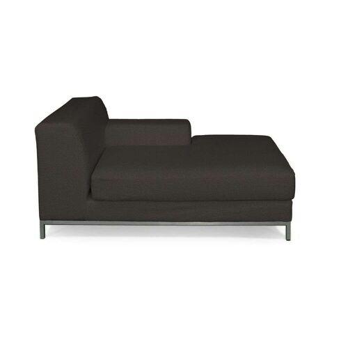 Dekoria Kramfors Recamiere rechts Sofabezug, braun, Bezug für Recamiere rechts Kramfors, Etna (702-36)