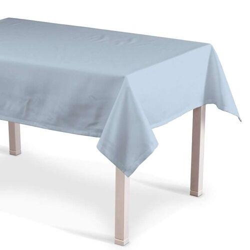 Dekoria Rechteckige Tischdecke, hellblau, 130 × 130 cm, Loneta (133-35)