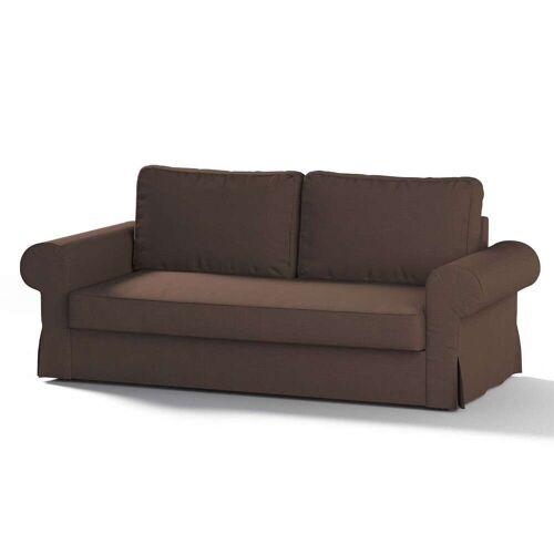 Dekoria Backabro 3-Sitzer Sofabezug ausklappbar, braun, Bezug für Backabro 3-Sitzer Sofa, Etna (705-08)