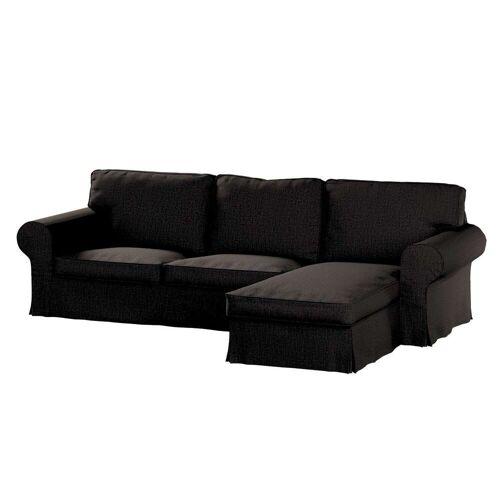 Dekoria Ektorp 2-Sitzer Sofabezug mit Recamiere, braun, Ektorp 2-Sitzer Sofabezug mit Recamiere, Etna (702-36)