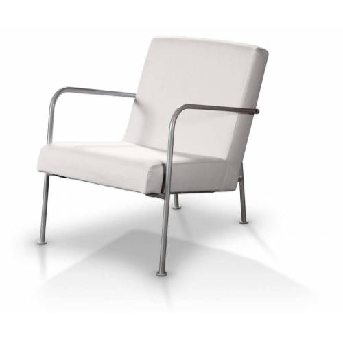 Dekoria Ikea PS Sesselbezug, weiss, Ikea Sessel  PS, Cotton Panama (702-34)