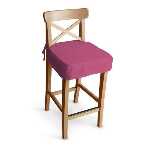 Dekoria Sitzkissen für Barhocker Ingolf, rosa, Barstuhl  Ingolf, Loneta (133-60)