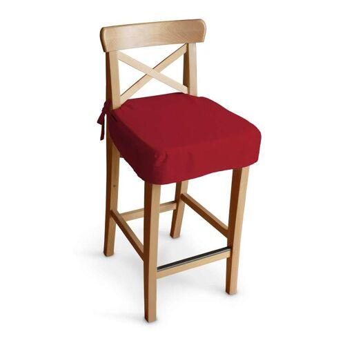 Dekoria Sitzkissen für Barhocker Ingolf, rot, Barstuhl  Ingolf, Etna (705-60)