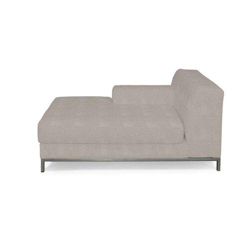 Dekoria Kramfors Recamiere links Sofabezug, beige-grau, Bezug für Recamiere links Kramfors, Etna (705-09)