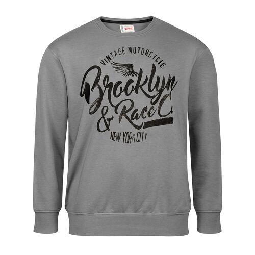 Redfield XXL Redfield Sweatshirt grau bedruckt