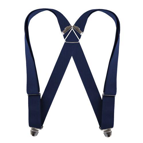 Boyer Biclip blaue Hosenträger Übergröße