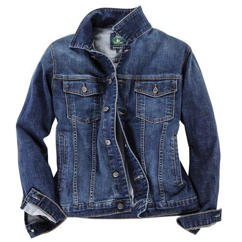 Pionier Jeans Übergrößen Jeansjacke Pionier blau