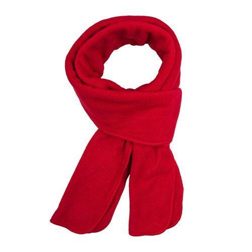 Brigg roter Schal Soft Fleece