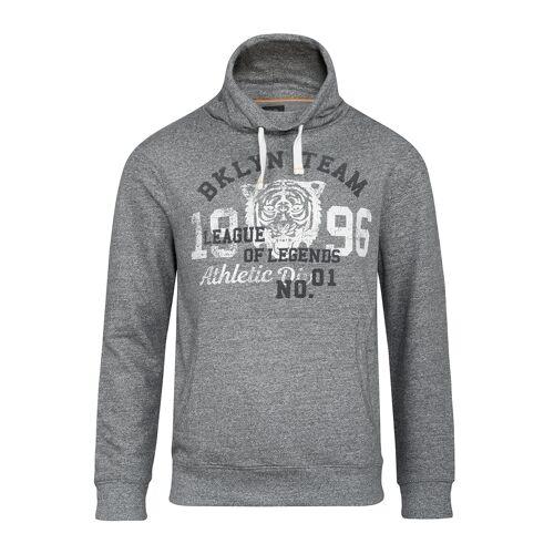 Kitaro Men XXL Kitaro Sweatshirt grau meliert Druck
