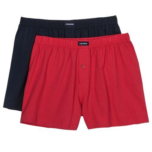 Ceceba Boxershorts 2er Pack rot/navy Ceceba XXL