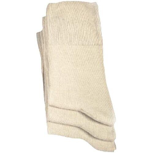 Wowerat 3er Pack Socken Wowerat beige Übergröße