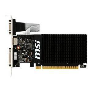msi GeForce GT 710 Grafikkarte 2.048 MB GDDR3 64 Bit