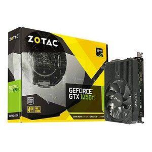 ZOTAC GeForce GTX 1050 Ti Mini Grafikkarte 4.096 MB GDDR5 128 Bit