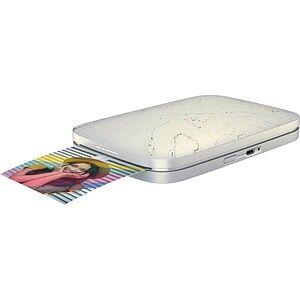 HP Sprocket Select Fotodrucker weiß marmoriert