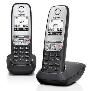Gigaset A415 Duo Schnurlostelefon-Set schwarz