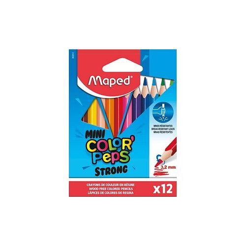 Maped 12 maped COLOR'PEPS STRONG Buntstifte farbsortiert