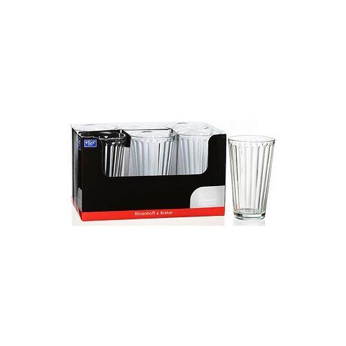 Ritzenhoff & Breker 6 Ritzenhoff & Breker Gläser LAWE KLAR