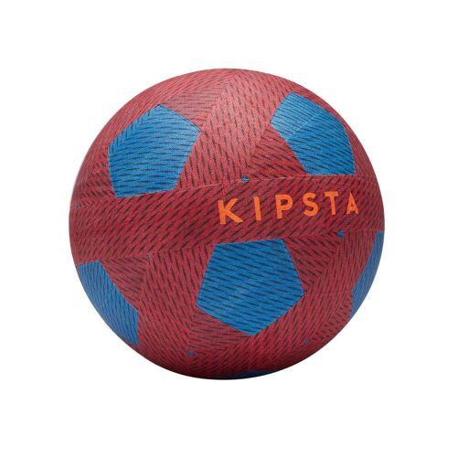 KIPSTA Fußball Ballground 100 Größe 4 rot/blau
