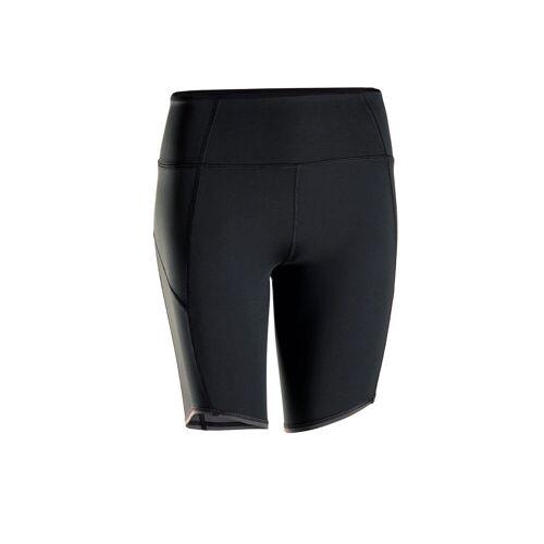 KIMJALY Shorts dynamisches Yoga Damen schwarz SCHWARZ