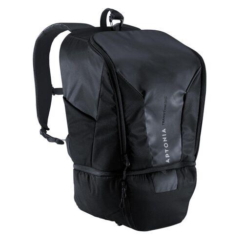 Aptonia Triathlon-Rucksack Transition Bag 35l SCHWARZ