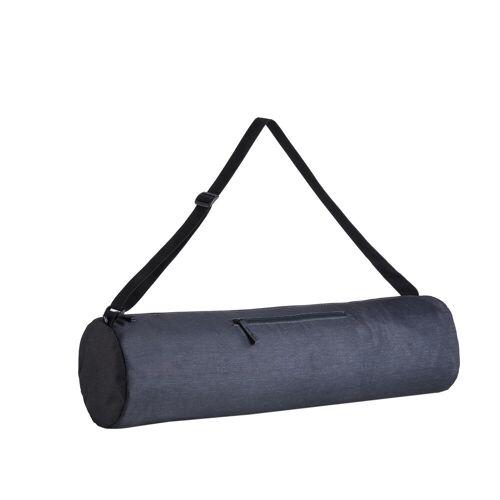 KIMJALY Tragetasche für Yogamatte dunkelgrau meliert GRAU