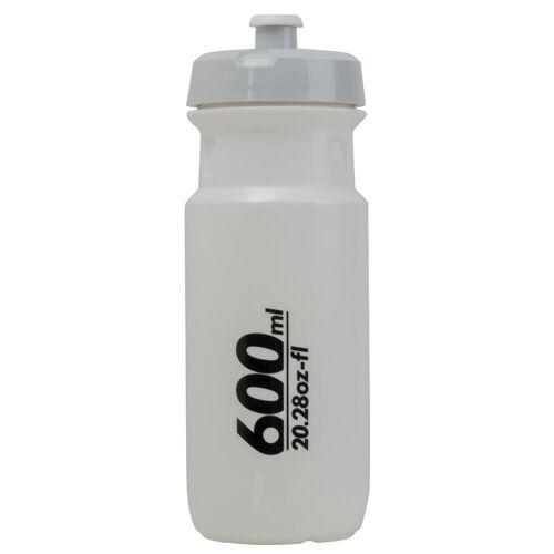 B'twin Fahrrad Trinkflasche Road 600 ml weiß