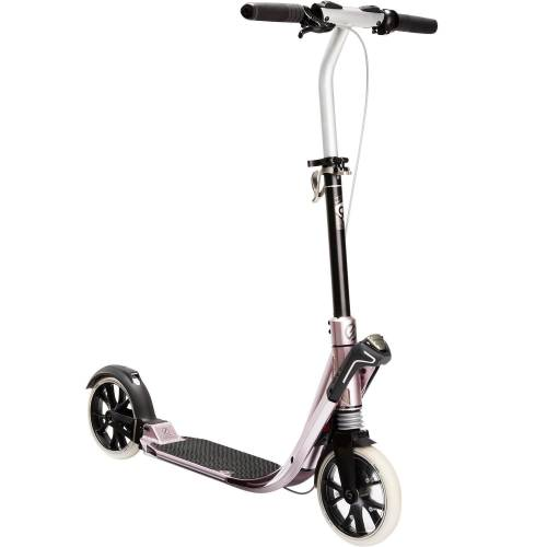 OXELO City-Roller Scooter Town 9 EF V2 Erwachsene rosa/metall