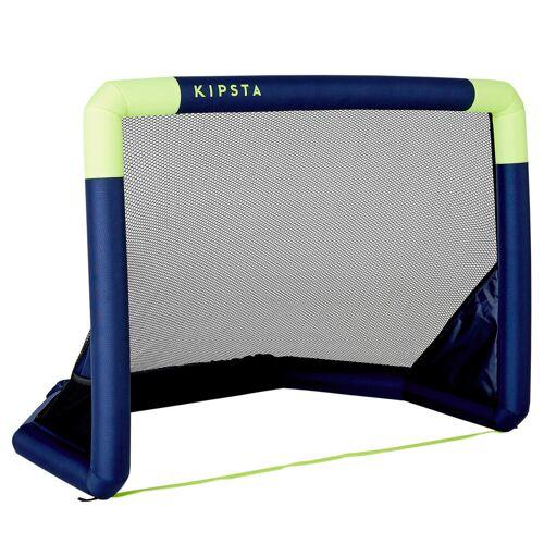 KIPSTA Fussballtor Air Kage aufblasbar blau/gelb