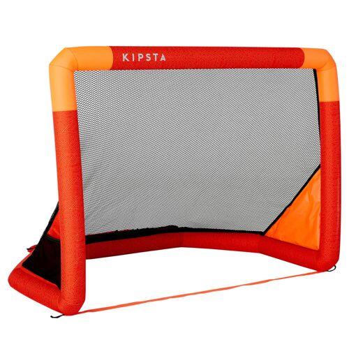 KIPSTA Fußballtor Air Kage aufblasbar rot/orange